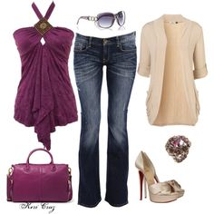 Magnificent in Magenta - Polyvore