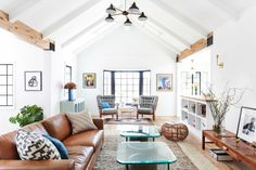 Photography: Tessa Neustadt For Homepolish - tessaneustadt.com Interior Design: Homepolish Interior Designer Stefani Stein - www.homepolish.com/   Read More on SMP: http://www.stylemepretty.com/living/2015/10/17/eclectic-los-angeles-bungalow-with-a-little-something-for-everyone/
