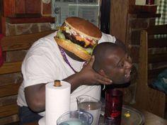 The Hamburger Revenge. The 19 Funniest Face Swaps On The Internet • Page 5 of 6 • BoredBugBoredBug