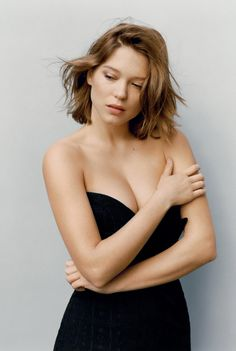 This HD wallpaper is about Bond girl, Lea Seydoux, French actress, Original wallpaper dimensions is file size is Older Women Hairstyles, Boho Hairstyles, Everyday Hairstyles, Hairstyles With Bangs, Bouffant Hairstyles, Wedding Hairstyles, Wedge Hairstyles, Brunette Hairstyles, Medium Hairstyles