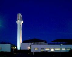 Lakeuden Risti, church and belltower by world-renowned architect Alvar Aalto.  Panoramio - Photos by rai-rai > Seinäjoki