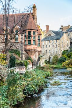Dean Village is one of the most beautiful under-the-radar places in Edinburgh, Scotland.(I lived there. bs)