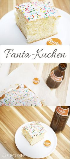 Retro-look Fanta cake revival - it always tastes good!-Fanta-Kuchen-Revival in Retro-Optik – der schmeckt immer! For the birthday there was a revival of Fanta in … - Cream Recipes, New Recipes, Cake Recipes, Snack Recipes, Dessert Recipes, Grilling Recipes, Food Cakes, Pumpkin Spice Cupcakes, Fall Desserts