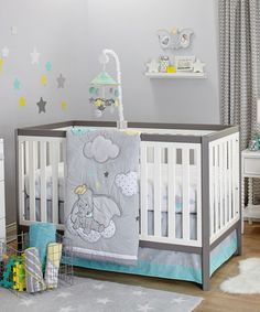 Wonderful Send Your Little One Off To Dreamland Courtesy Of This Supersoft Crib Set  Boasting Friendly Dumbo Inspired Patterns. A Supersoft Comforter And Sheet  Hold ...