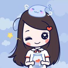 Love Cartoon Couple, Chibi Couple, Cute Couple Art, Lockscreen Couple, Your Name Anime, Cute Couple Wallpaper, We Heart It, Anime Child, Couples Images