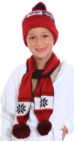 Flight Tracker Children Boy Girl Winter Knitted Beanie Hat Scarf Dual Use Kids Warm Ski Cap New Year-End Bargain Sale Hats & Caps Accessories