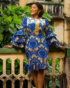 latest ankara styles 2019 for ladies: check out 2019 African Dresses Most Beauti. from Diyanu - Ankara Dresses, Shirts & African Fashion Ankara, African Inspired Fashion, Latest African Fashion Dresses, African Dresses For Women, African Print Dresses, African Print Fashion, African Attire, Latest Ankara Dresses, Ankara Short Gown