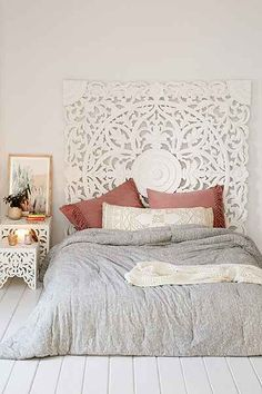 I'd trade my dreamy headboard for this dreamy headboard Grand Sienna Headboard - Urban Outfitters
