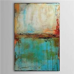 Oil Paintings - Abstract Paintings - Hand Painted Oil Painting Abstract 1303-AB0360