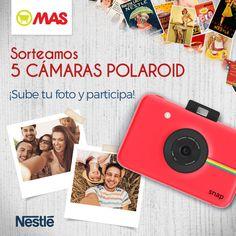 ¡Sorteazo de la semana! ¿Siempre has querido una Polaroid? Sube una foto, ¡y participa! Participa>>bit.ly/Sorteo5Polaroid  +Info>>bit.ly/InfoPolaroid #Polaroid #Sorteo #SubeTuSelfie