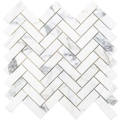 138 best tile inspo images on pinterest kitchen backsplash tiles Checkerboard Laminate Flooring ivy hill tile calacatta herringbone marble mosaic 3 in x 6 in x 10 5 mm tile s le calher1x3smp the home depot