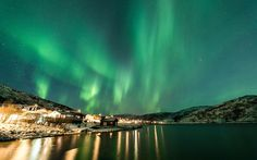 10 Best Places to Spend Christmas: Tromso, Norway Best Christmas Vacations, Best Christmas Lights, Christmas Getaways, Christmas Travel, Holiday Travel, Christmas Destinations, Christmas 2017, Christmas Holidays, Xmas