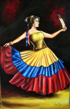 Yo me llamo Cumbia. by LoreRose on DeviantArt Dancer Drawing, Colombian Culture, Colombia Flag, Lion Art, Dance Art, Lovers Art, Deviantart, Disney Princess, Disney Characters
