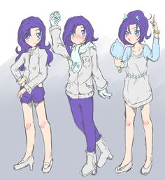 Rarity Human by AppleStems.deviantart.com on @deviantART