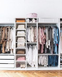 Ideas Ikea Closet Organization Pax Wardrobe Master Bedrooms For 2019 Ikea Closet Organizer, Best Closet Organization, Wardrobe Organisation, Closet Storage, Organization Ideas, Organizing, Bedroom Organization, Storage Room, Organising Tips