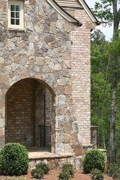Brick Stone combination