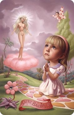 """Saint Barbie"" by MARK RYDEN."