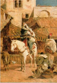 Mariano Fortuny en Marruecos.  Mariano Fortuny au Maroc.