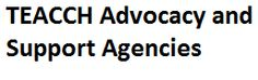 TEACCH provides a list of resources for advocacy and support agencies.