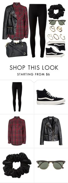 """Style #9918"" by vany-alvarado ❤ liked on Polyvore featuring P.A.R.O.S.H., Vans, Topshop, H&M, Louis Vuitton, American Apparel, Ray-Ban and ASOS"