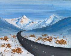 Lindis Pass Paint And Sip, Paintings, Studio, Art, Art Background, Paint, Painting Art, Kunst, Studios