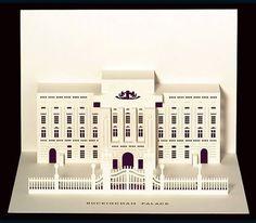 Buckingham Palace Pop-Up Card by Judy Robinson