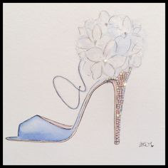 Inspired by #brianatwood #shoes #fashionillustration