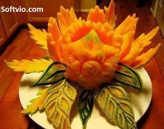 By understanding which edibles to stay away from and which nourishing foods to supplement Veggie Art, Fruit And Vegetable Carving, Edible Food, Edible Art, Carving Pineapples, Food Sculpture, Sculpture Ideas, Mango, Food Carving