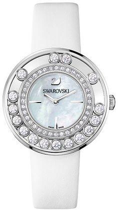 Swarovski watch. But I like the black one more.