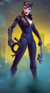 DC Direct Batman Arkham City Series 2 Action Figure Catwoman New!
