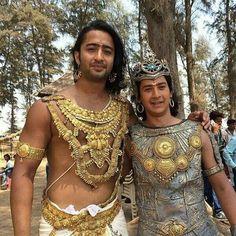 Arjuna and Abhimanyu