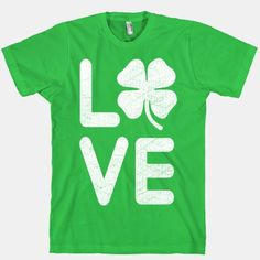 Irish Love (white)