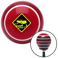 Yield To My Drift Red Stripe Shift Knob with M16 x 15 Insert - Give your interior the ultimate look. American Shifter's Elite(TM) series shift knobs are made from the highest quality components resulting in a superior feel on every shift. Each shift knob is designed and customized in the USA by skilled shift knob artisans who have a trained eye on every detail. American Shifters shift knobs offers an exclusive aluminum threaded insert designed to be screwed onto your shift arm. You should…