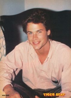 Rob Lowe Young, Rob Lowe 80s, Cute Anime Guys, Cute Guys, Lowes Wallpaper, 80s Movies, Miss America, Mean Girls, Man Alive