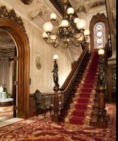 Victorian Stairs..
