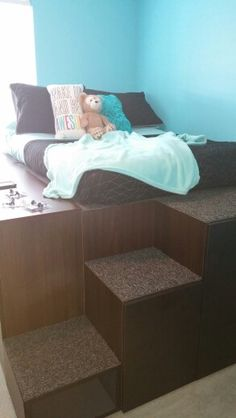 Dad's IKEA Hack To Create Bed With Storage For Kids Is So Impressive
