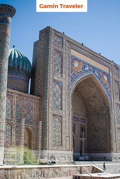 Samarkand the most amazing place in Uzbekistan.