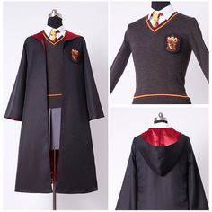 Harry Potter Hermione Granger Cosplay Costume Adult Gryffindor Uniform Dress Set