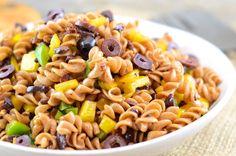 Vegan Balsamic Pasta Salad   Girl Makes Food