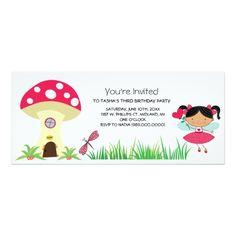 Fairy Birthday Party Woodland Fairy Birthday Party Invitations