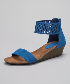 cute blue sandal