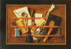 Samuel Van Hoogarsten (1627-1678)  Lettrer Board, 1662.