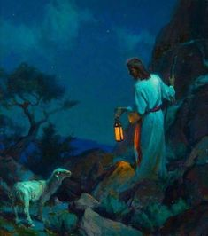 Teachings of Jesus Christ - Lost Sheep, Prodigal Son, Good Samaritan, prophetic art. Pictures Of Jesus Christ, Religious Pictures, Bible Pictures, Religious Art, Pictures Images, Lds Art, Bible Art, Arte Lds, Image Jesus