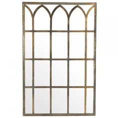 Constructed from metal and mirror Foyer Mirror, Mirror Art, How To Antique Wood, Antique Gold, Mirrors With Leather Straps, Faux Bamboo, Wall Mounted Mirror, Round Mirrors, Interior Design Services