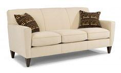 Digby Fabric Three-Cushion Sofa by #Flexsteel via Flexsteel.com