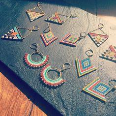 Seed Bead Jewelry, Bead Jewellery, Seed Bead Earrings, Beaded Earrings, Beaded Jewelry, Handmade Jewelry, Beaded Bracelets, Seed Beads, Necklaces