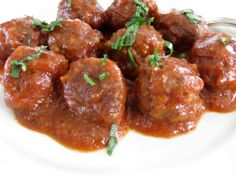 Sweet and Sour Meatballs - melt-in-your-mouth morsels of happiness . . great for Super Bowl! #SuperBowl
