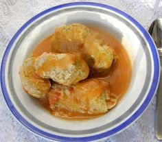 W Mojej Kuchni Lubię.. : szybkowar-gołąbki drobiowe we włoskiej kapuście ze...
