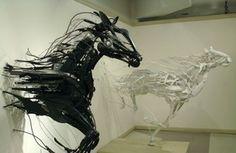 Sakaya's Recycled Sculptures