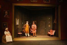 The School for Scandal. Charlie Calvert. College of Charleston Theatre.